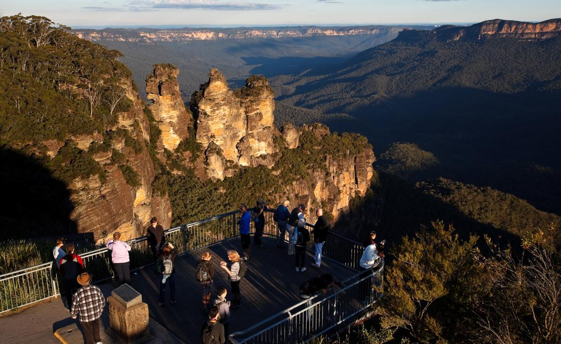 Echo Point - Katoomba - Blue Mountains
